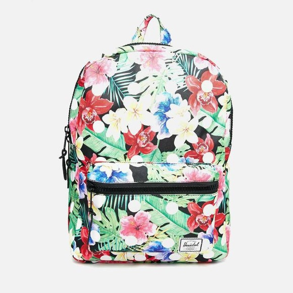 NOT AVAILABLE - NWT Herschel floral aloha backpack af1aad0f117cb