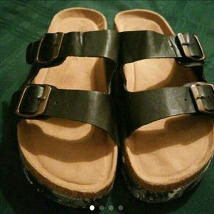 Shoes - Black chunky sandals