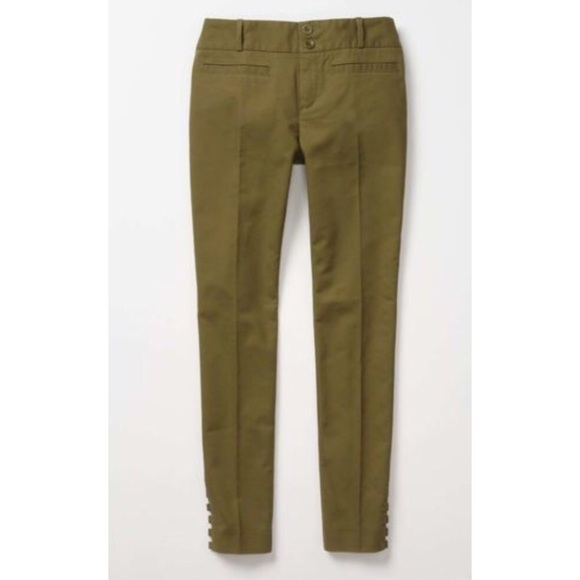 74% off Anthropologie Pants - Anthropologie Moss Green Pants 4 ...