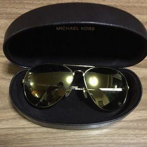 cda3ba7e63151 MICHAEL Michael Kors Accessories - Michael Kors Lola 63mm Aviators  Sunglasses