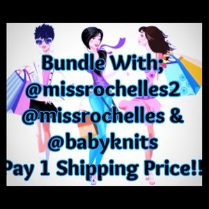 Other - Bundle w/ @missrochelles & @babyknits 1 Shipping $