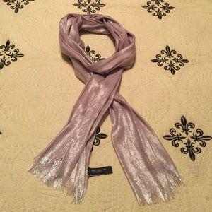 Ann Taylor Scarf - Silk, Wool, Cashmere Blend