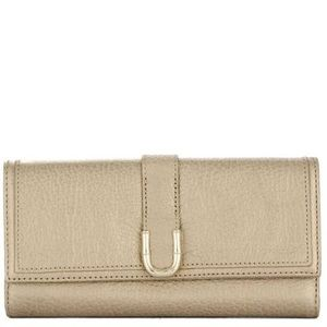 Elaine Turner Gold Wallet