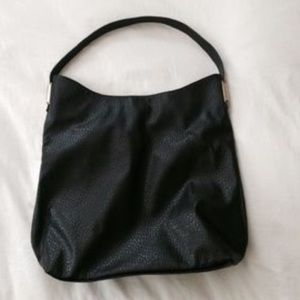 73697d47baf5 Mossimo Supply Co. Bags - RARE Mossimo Black Gold Hardware Hobo Purse Tote