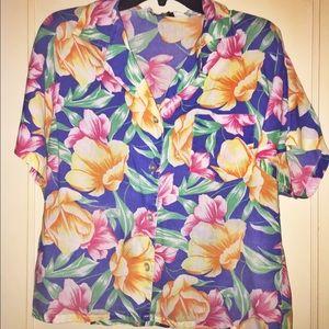 Vintage Diane Von Furstenberg button up shirt