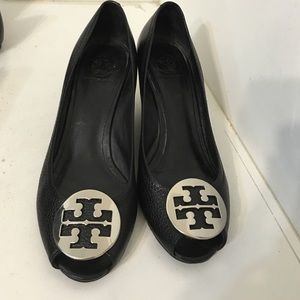 Tory burch Sally wedge pump