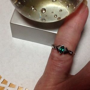 Jewelry - 💍 REAL EMERALD, DIAMONDS AND 10K GOLD RING 💍