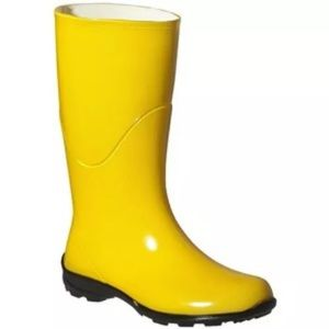 Rain Boots Cosplay Wellies Mid Calf 6 Coraline