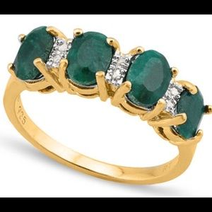 Jewelry - Emerald and Diamond Ring
