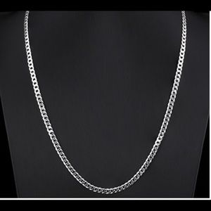 Jewelry - 24 inch 925 Italy Sterling Silver Chain