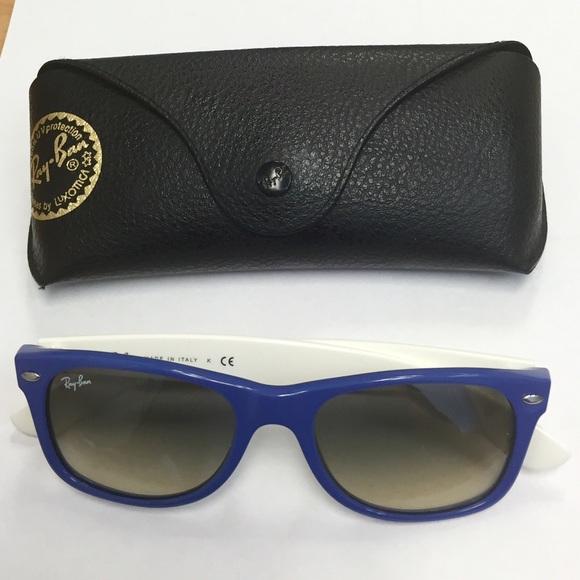 839a8d2ccdcb New Ray-Ban RB2132 - New Wayfarer Sunglasses. M 56ba2b322de5124d5006bab5