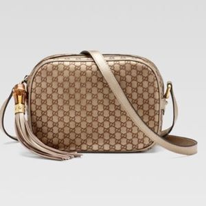 Gucci Sunshine Microguccissima Disco Bag