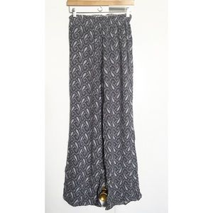 Brandy Melville Paisley Wide Pants