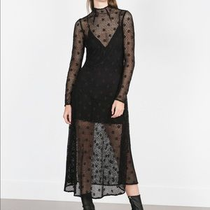 Host Pick Zara black dress