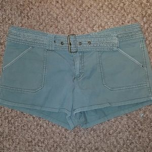 American Eagle Outfitters Pants - AE CUTE  Army Green Short Shorts