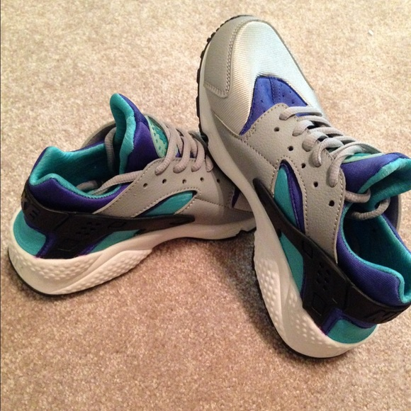 sneakers for cheap best authentic outlet on sale Shoes | Nike Air Huarache Run Wolf Greypersian Violet | Poshmark