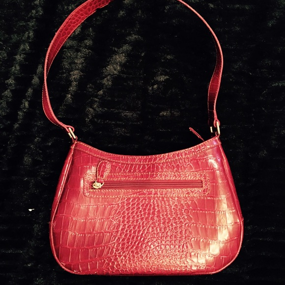 Liz Claiborne Handbags - Red leather Liz Claiborne purse.