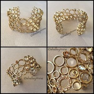 Jewelmint Jewelry - Honeycomb Cuff