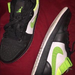Nikes Jordan 1s