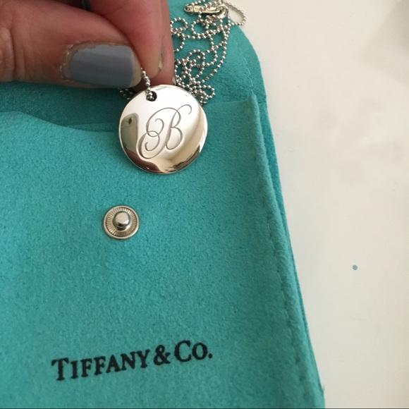 31443658b Tiffany & Co. Jewelry | Tiffany Initial Necklace | Poshmark