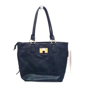 Apt. 9 Bags - Faux Leather Black Purse.