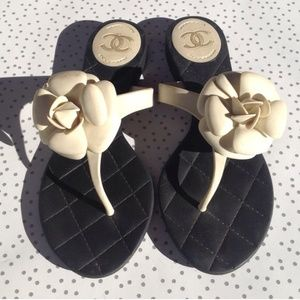 Reposh Chanel Sandals  euro 38 but fits a 7