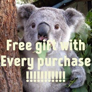 Free gift with every purchase!!!!!!