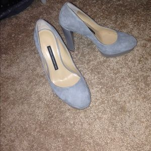 Gray French Connection Heels