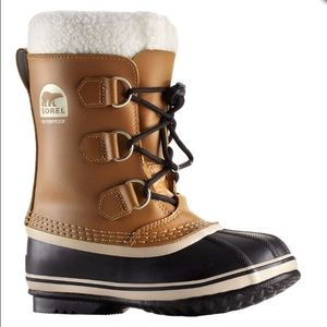 "Sorel Yoot Pac TP 9.5"" Youth Winter Boot Mesquite"