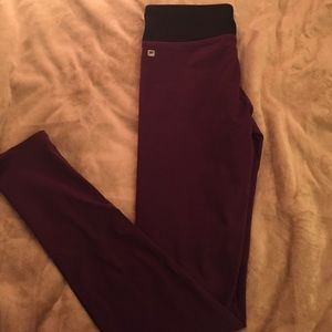 42cd7a8a6d2631 Fabletics Pants | Plum Workout Leggings | Poshmark