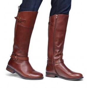 Vionic Brown Riding Boots