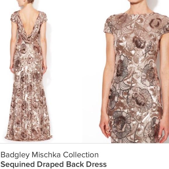 58% off Badgley Mischka Dresses & Skirts - RARE Badgley Mischka ...