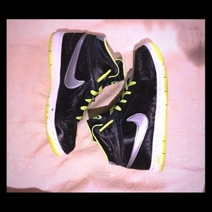Nike high top shoes, sneakers