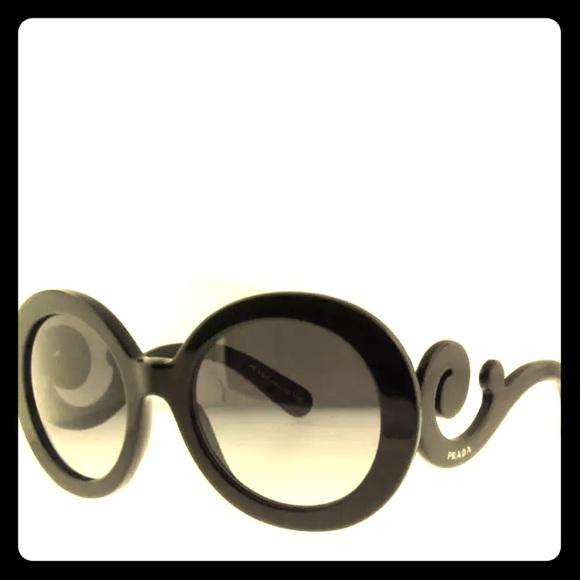 dac3e2519320 ... sweden authentic prada sunglasses black brand new firm 270f5 1a2e0