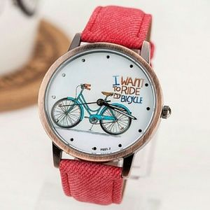 Accessories - I Want To Ride My Bicycle Watch