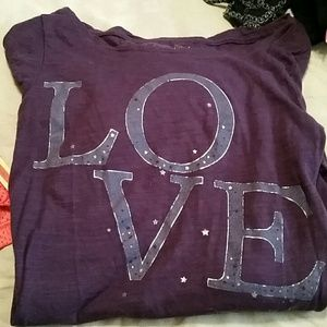 Tops - Long sleeve love shirt
