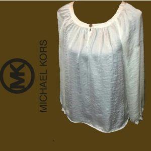 Michael Kors Silk Blouse NWOT
