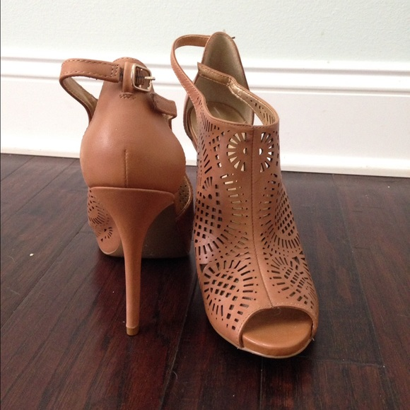 e627ff1b5f Jessica Simpson Shoes | Open Toe Laser Cut Heels | Poshmark