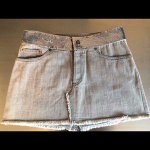 Richmond Dresses & Skirts - Richmond sequin denim skirt