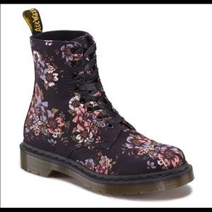 78 dr martens shoes floral canvas doc martens from