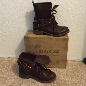 Shoes - DbDk studded military boots