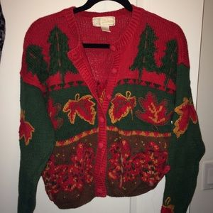 VINTAGE holiday sweater 