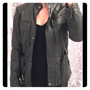 Gorgeous leather moto jacket