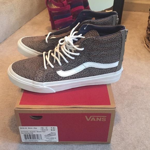 513dba7014b1 Vans SK8-Hi Cheetah suede. M 56bba0d9bf6df5ffb708d7ae. Other Shoes ...
