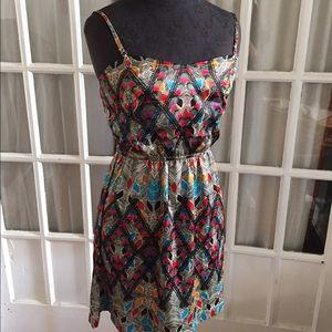 element Dresses & Skirts - Element tribal removal me strap dress