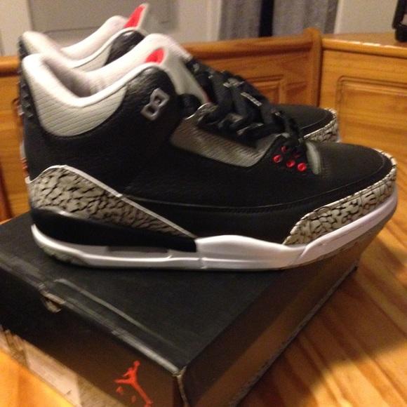new arrivals 7962a c267e Air Jordan Retro Black Gray Cement Men s Size 10