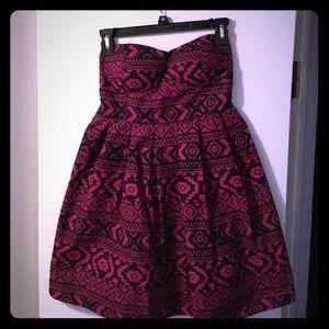 DONATING!!! Mini Cupcake Tribal Aztec Dress