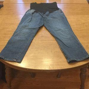 Liz Lange Maternity Pants-Cropped Jeans