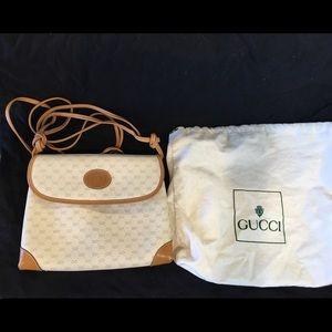 Authentic, vintage Gucci handbag.
