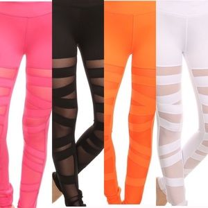 Electric Yoga Pants - Ballerina Lace- Ups